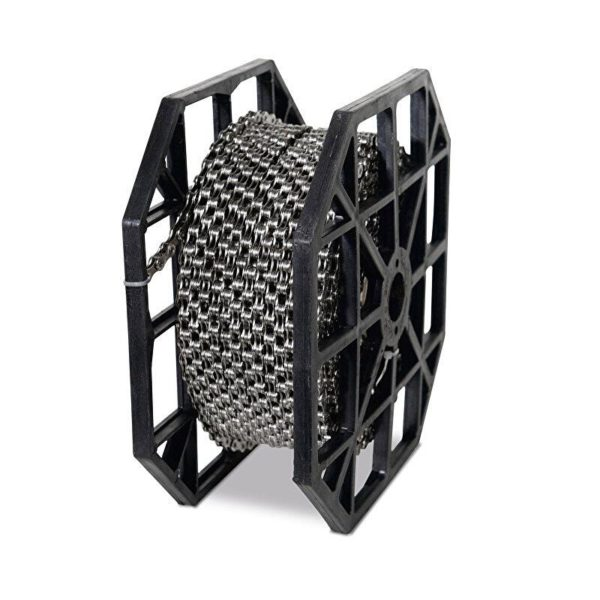 Kmc řetěz X-10.93 stř/šedý dílenské balení 50m + 40 spojek