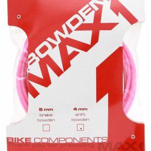 Max1 bowden 4 mm fluo růžová balení 3 m