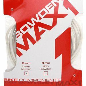 Max1 bowden 5 mm bílý balení 3 m