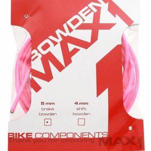 Max1 bowden 5 mm fluo růžová balení 3 m