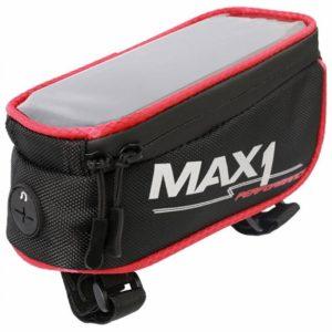 Max1 brašna Mobile One červeno/černá