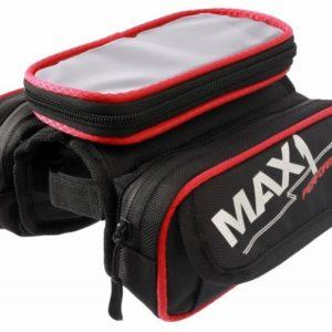 Max1 brašna Mobile Two červeno/černá