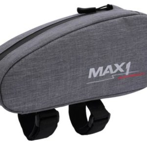Max1 brašna Top Tube šedá