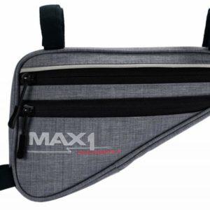 Max1 brašna Triangle M šedá