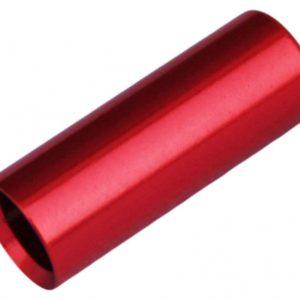 Max1 koncovka bowdenu CNC Alu 4 mm červená 100 ks