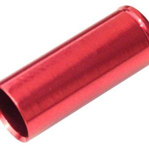 Max1 koncovka bowdenu CNC Alu 5 mm červená 100 ks