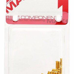 Max1 koncovka lanka Alu zlatá balení 20ks