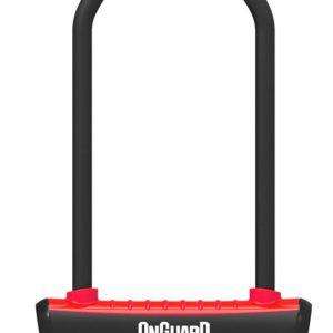 Onguard zámek podkova 115x230x11mm červená
