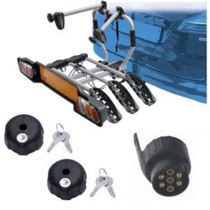 Peruzzo SIENA 3 kola nosič na tažné zařízení + 2x zámek nosiče + adaptér el. přípojky