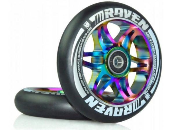 Raven Náhradní kola Neo Chrome 110mm (2ks) (s ložisky)