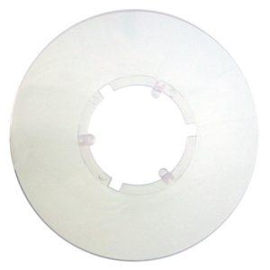Roto Kryt pod vícekolečko malý 139mm mléčný