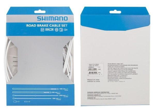 SHIMANO Bowdeny+lanka brzdový set SH DA7900 silniční