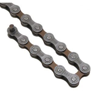 SHIMANO Řetěz SH CNHG40 šedý 8k