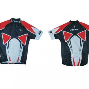 Sulov 2 červený Cyklistický dres