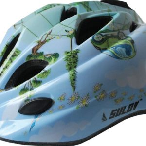 Sulov Guard modrá dětská cyklistická helma
