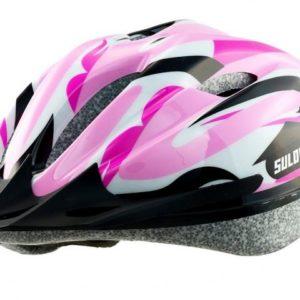 Sulov Jr-race-g růžová dětská cyklo helma