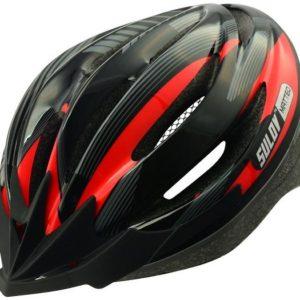 Sulov MATTEO černo-červená Cyklo přilba