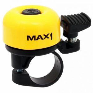 Velobel Zvonek MAX1 mini žlutý