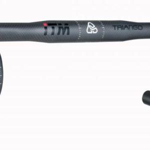 ITM Řidítka TRIANGO BLACK 31.8/420mm